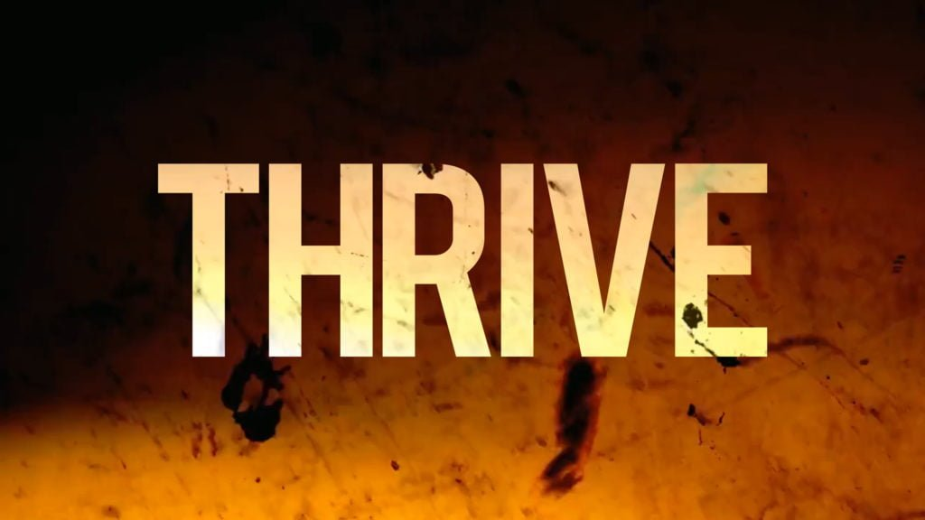 Thrive - Youth conference logo